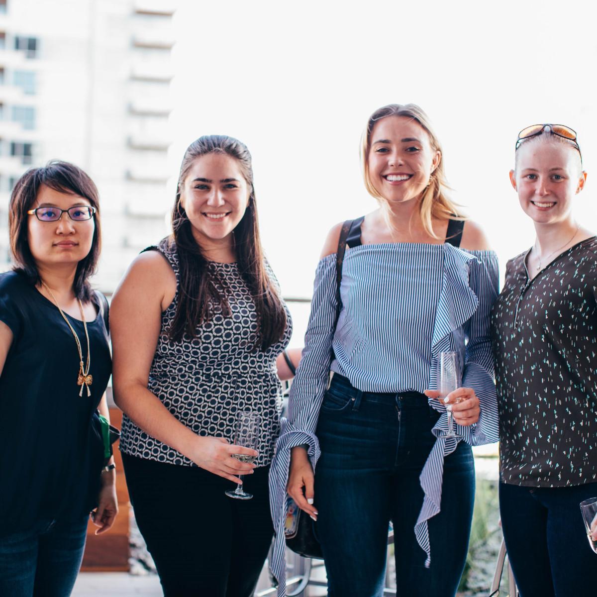 Shijen Feng, Leandra Contreras, Brittnee Lemmond, Mckennan Wright, Summer Soiree 2018