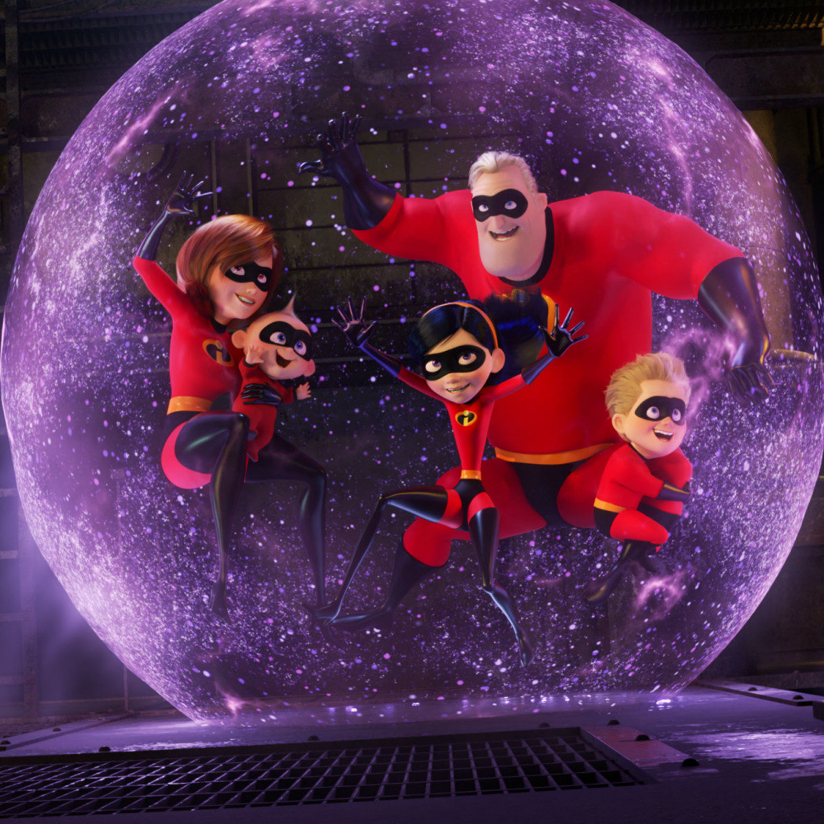 The Incredibles in Incredibles 2