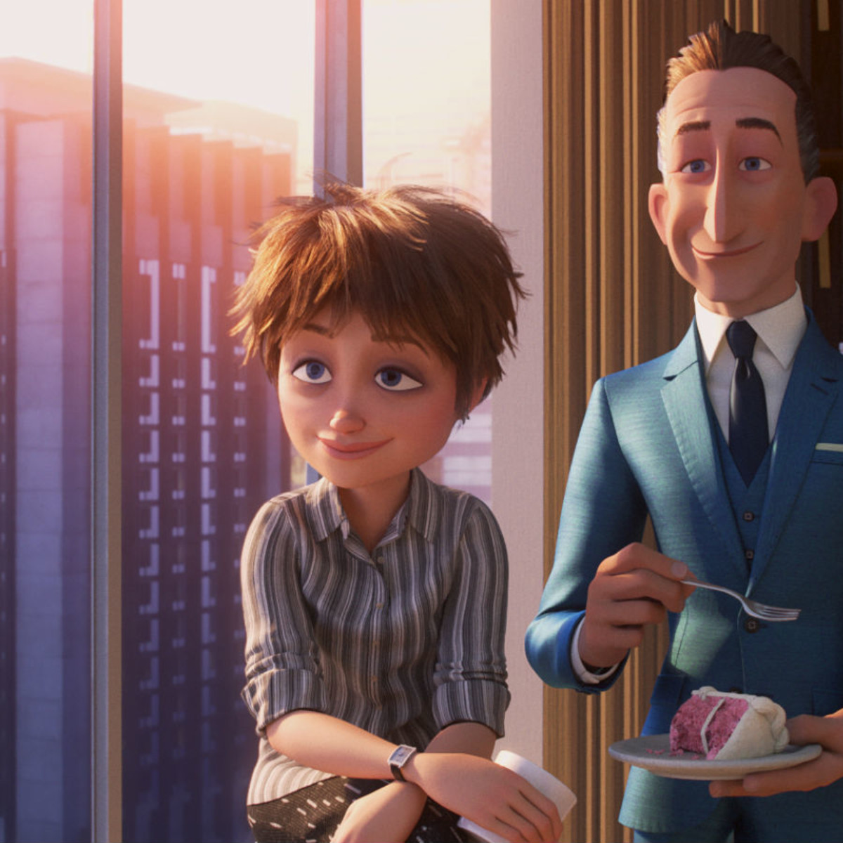 Evelyn and Winston Deavor in Incredibles 2