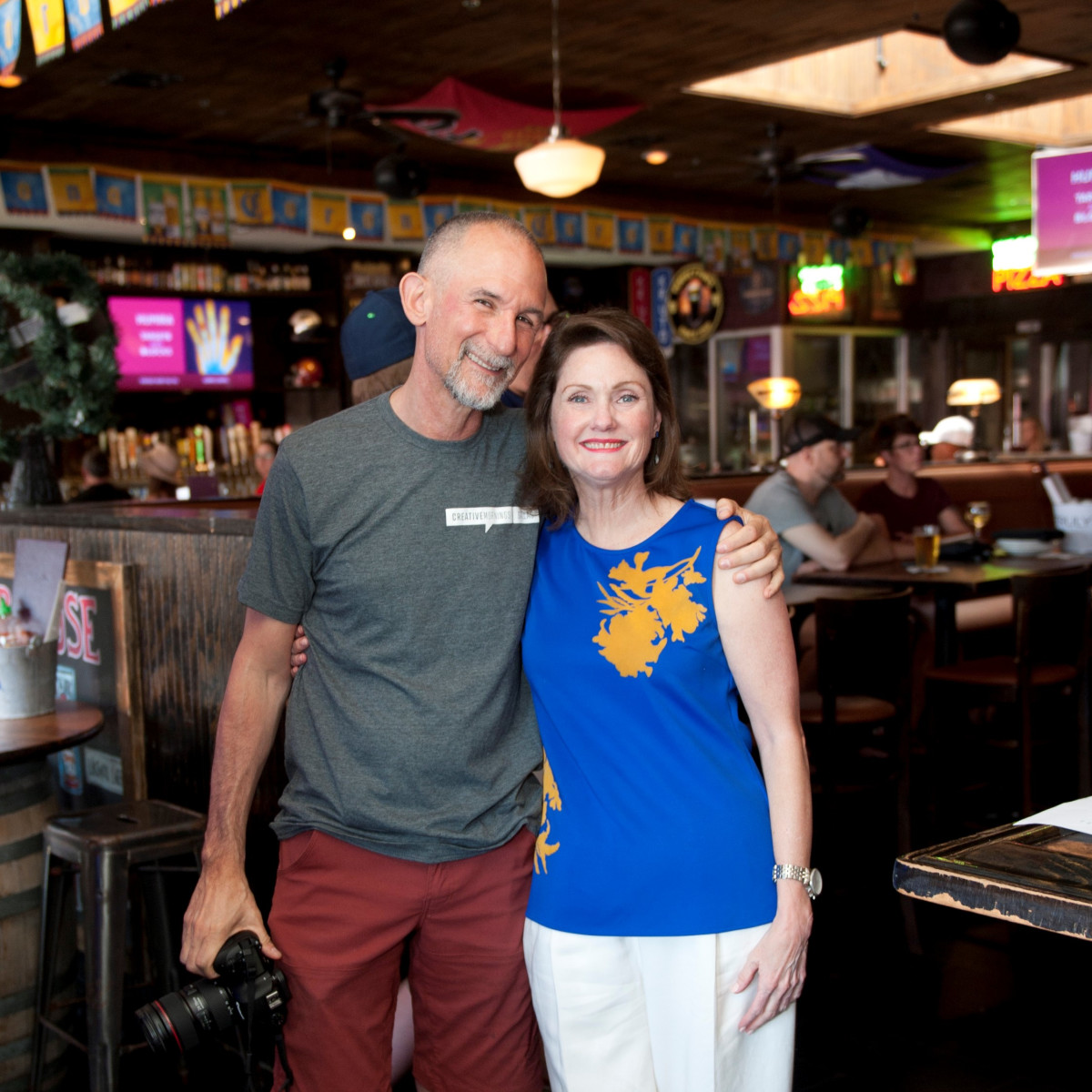Willie Baronet, Tanya Conovaloff, JDRF Brew the Cure 2018