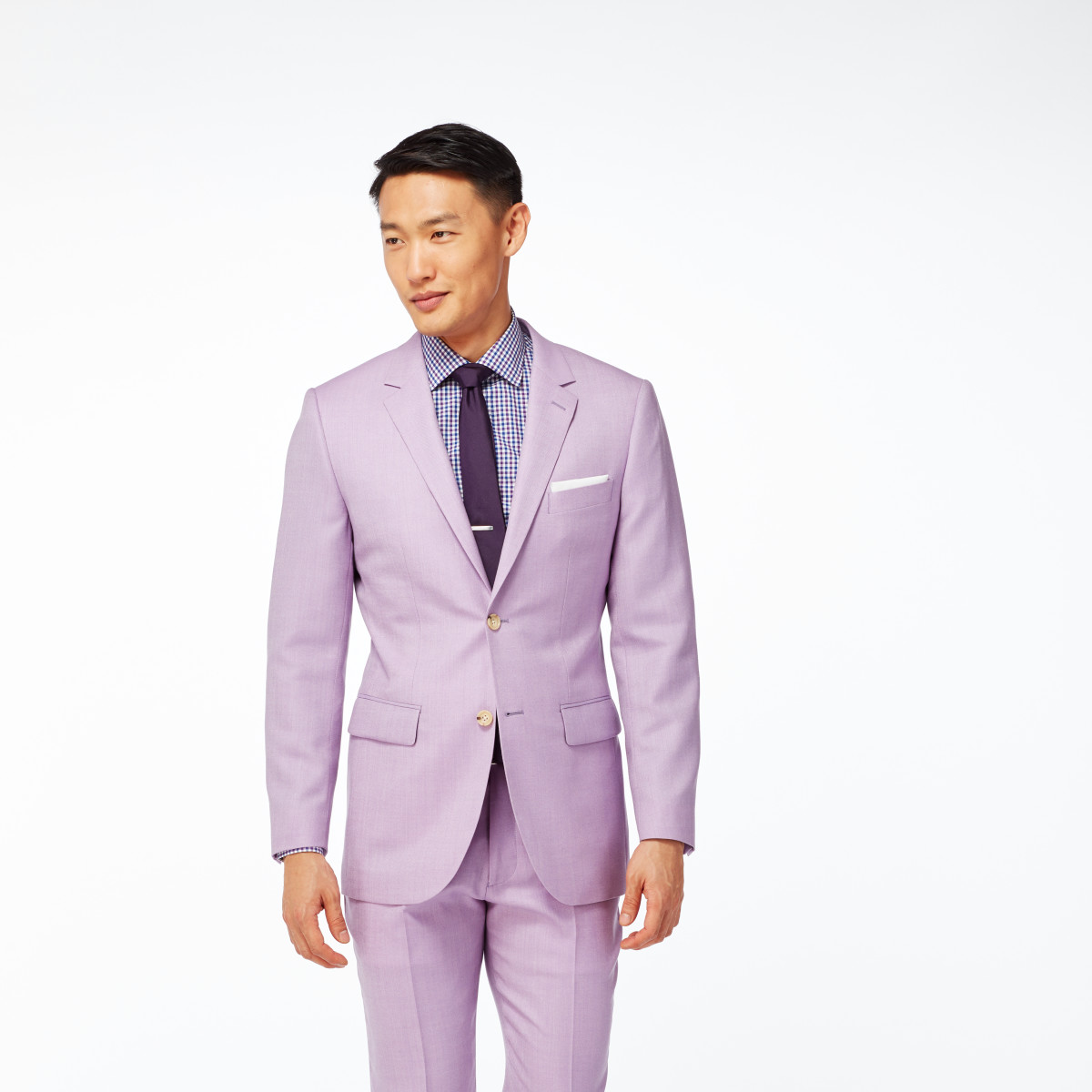 Mulberry Birdseye Suit