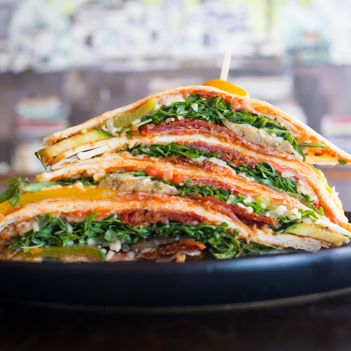 Mona Italian Food sandwich piadina