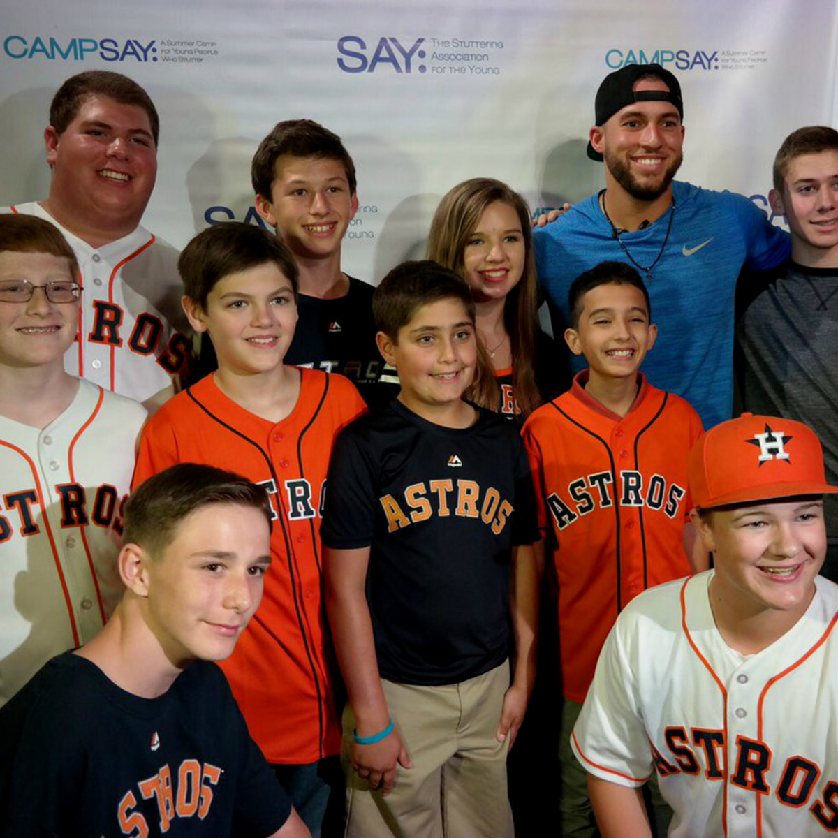 George Springer Bowling event