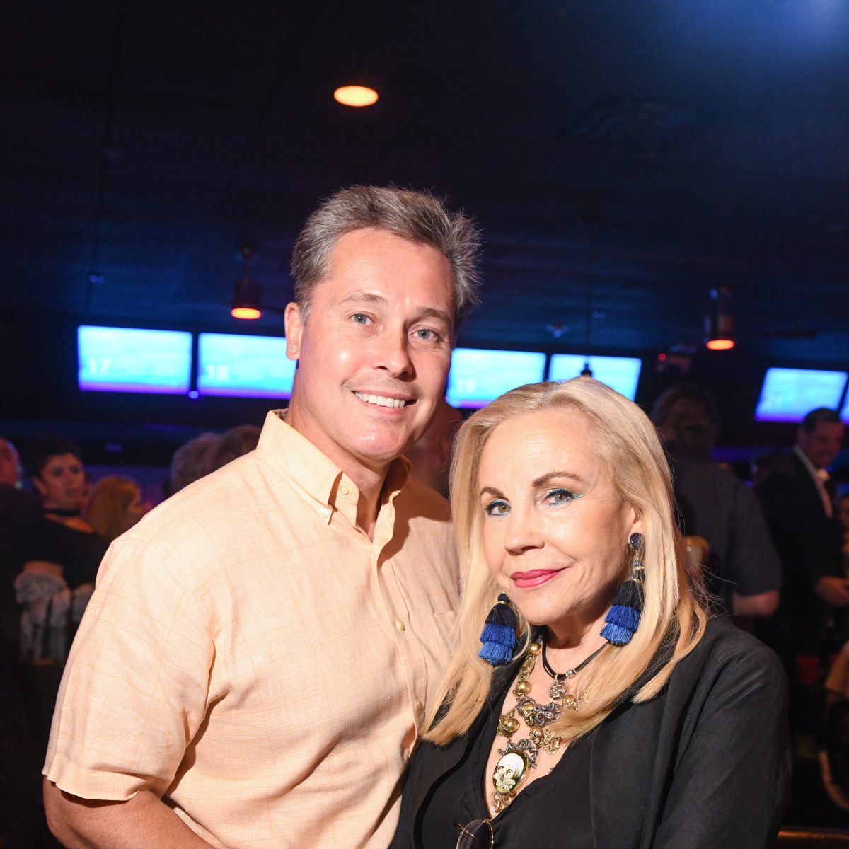 Bob Nowak and Carolyn Farb
