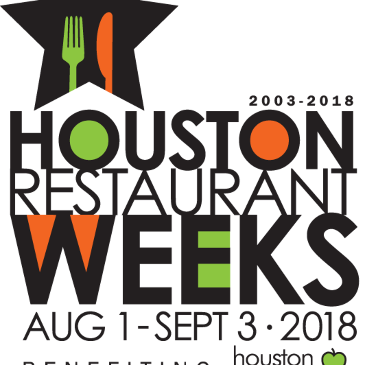 Houston Restaurant Weeks logo 2018