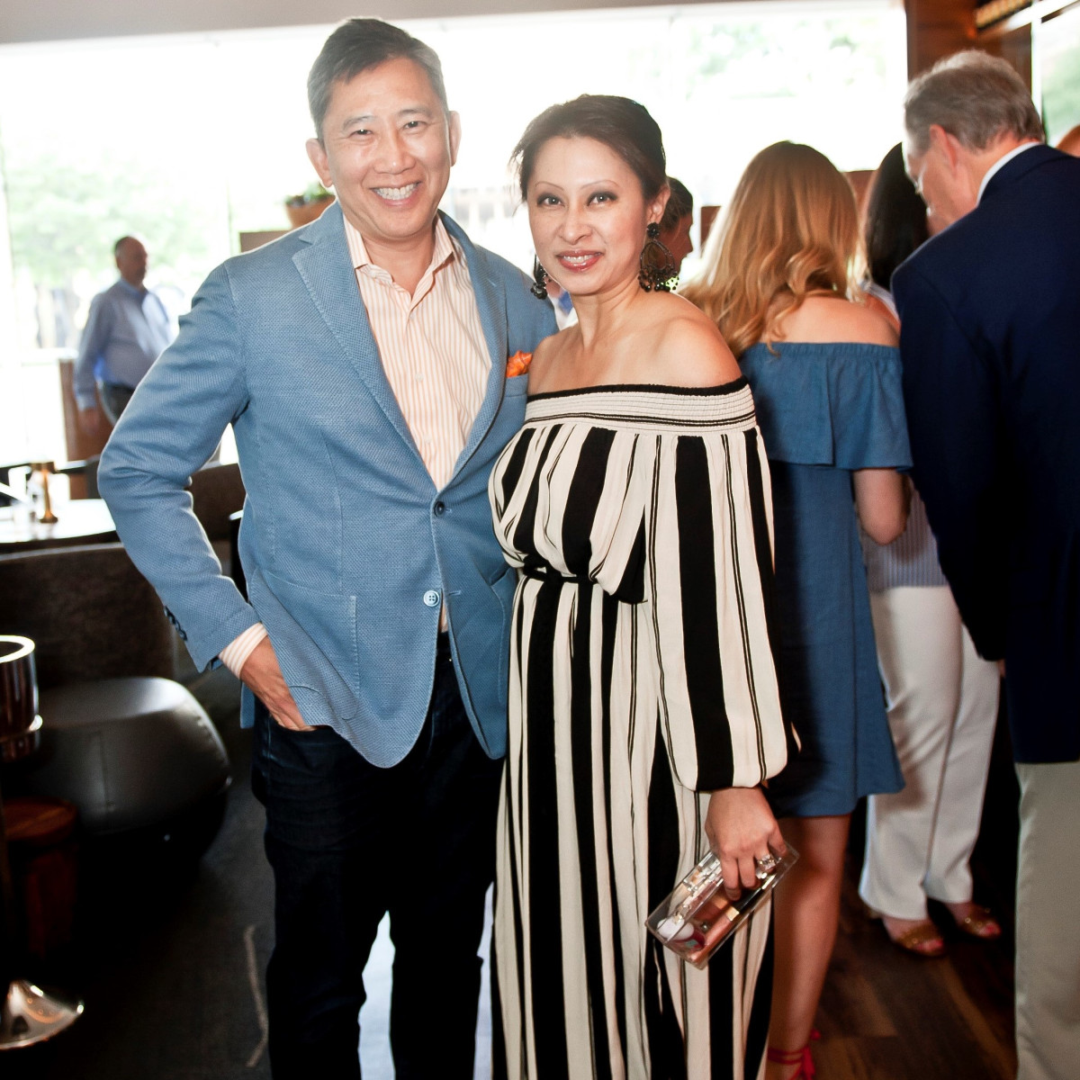 Wilson Chu and Natalie Chu