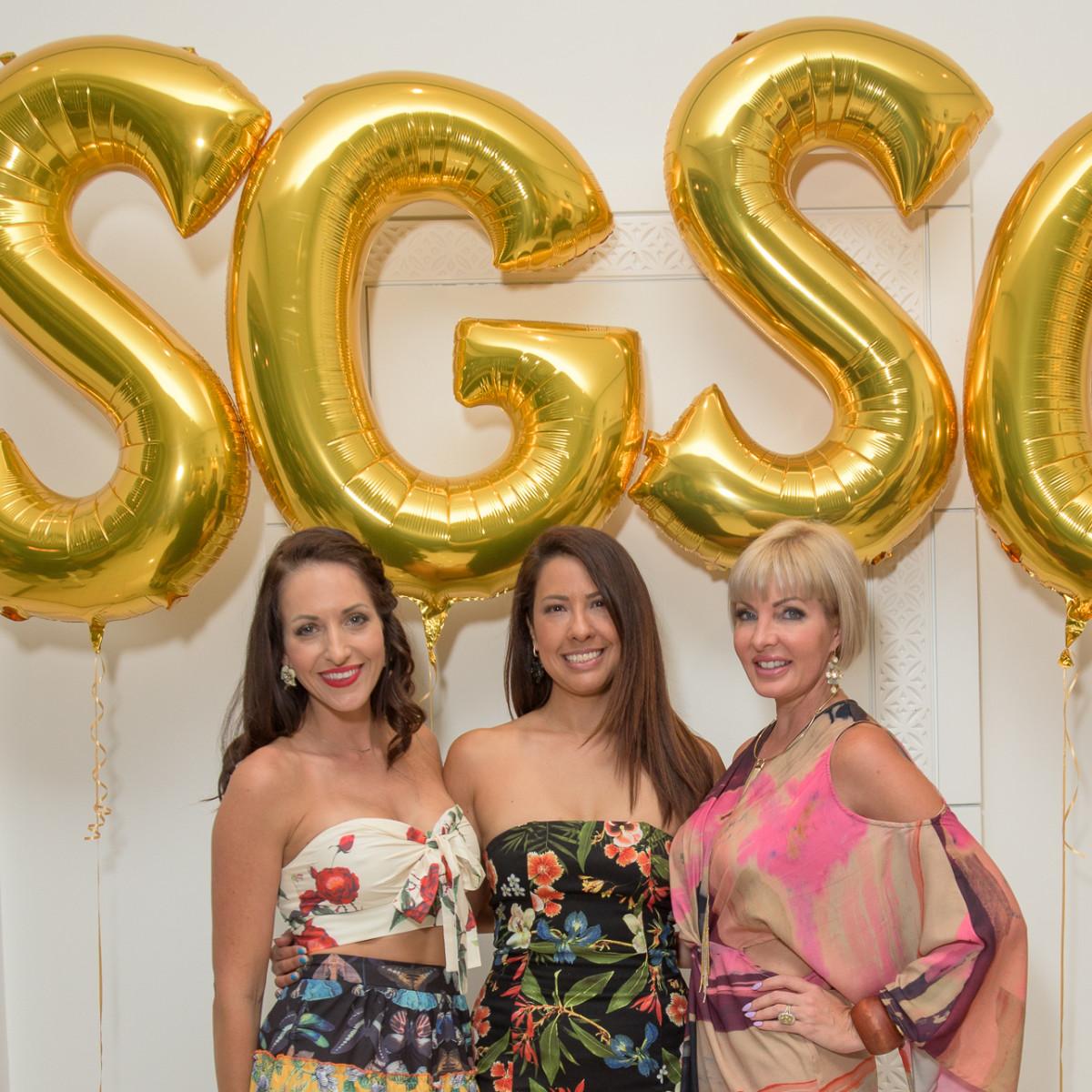 Original SGSC founders Shannah Quinn, Anika Jackson Redick, and Staci Henderson