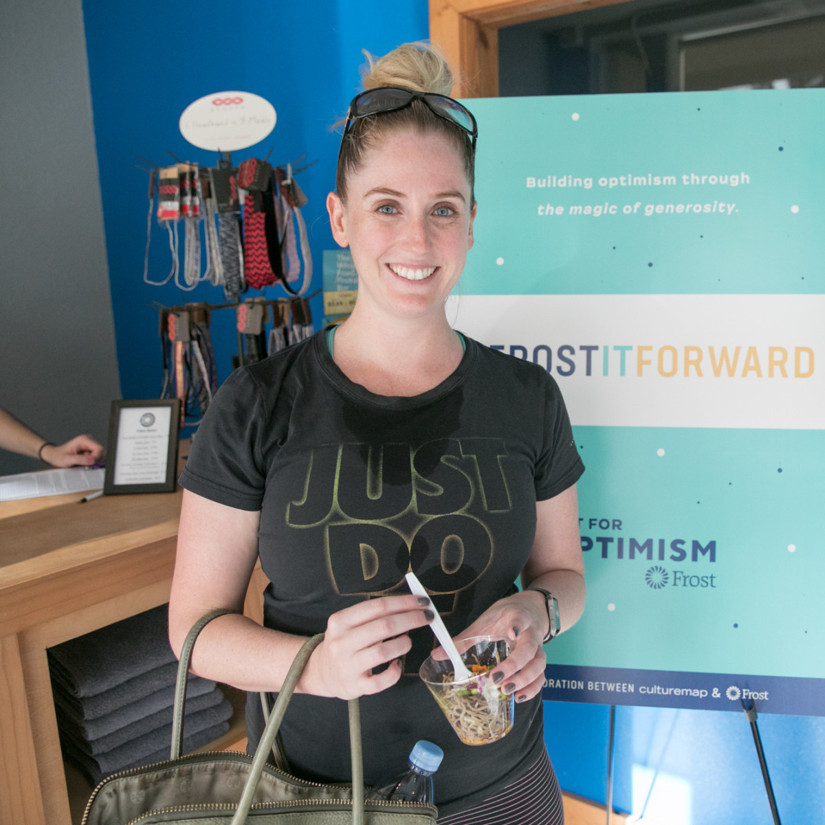 Frost it Forward Event Energy X Fitness