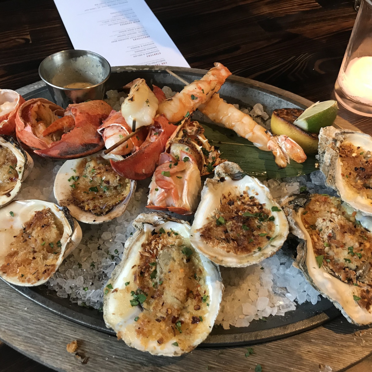 International Smoke seafood platter
