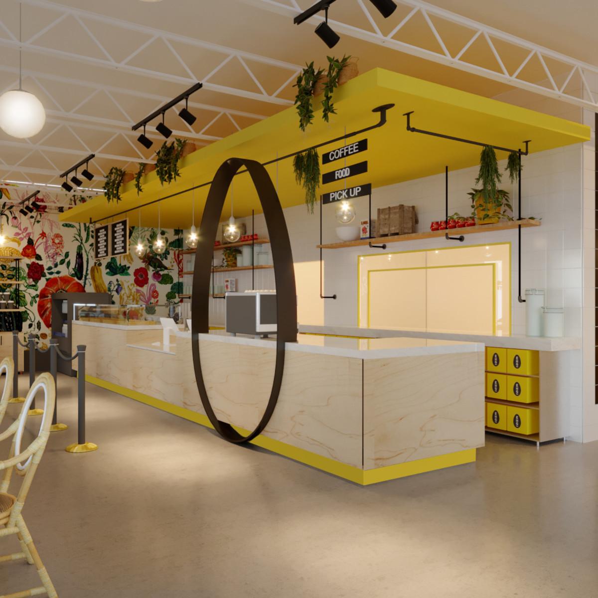 EggHaus interior rendering