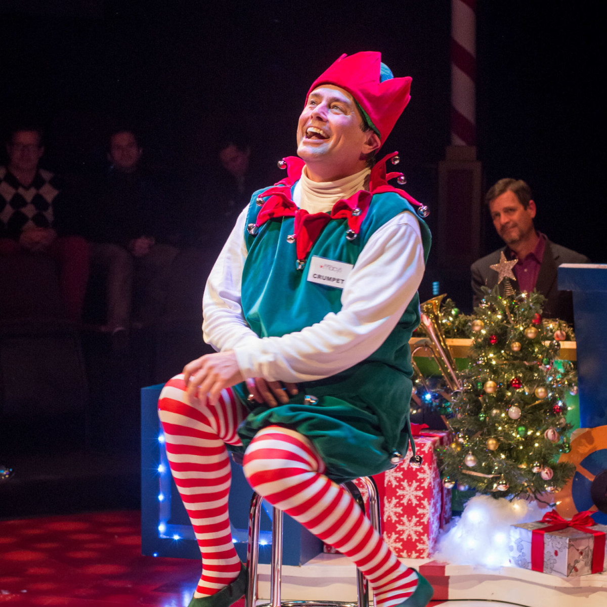 ZACH Theatre presents Santaland Diaries