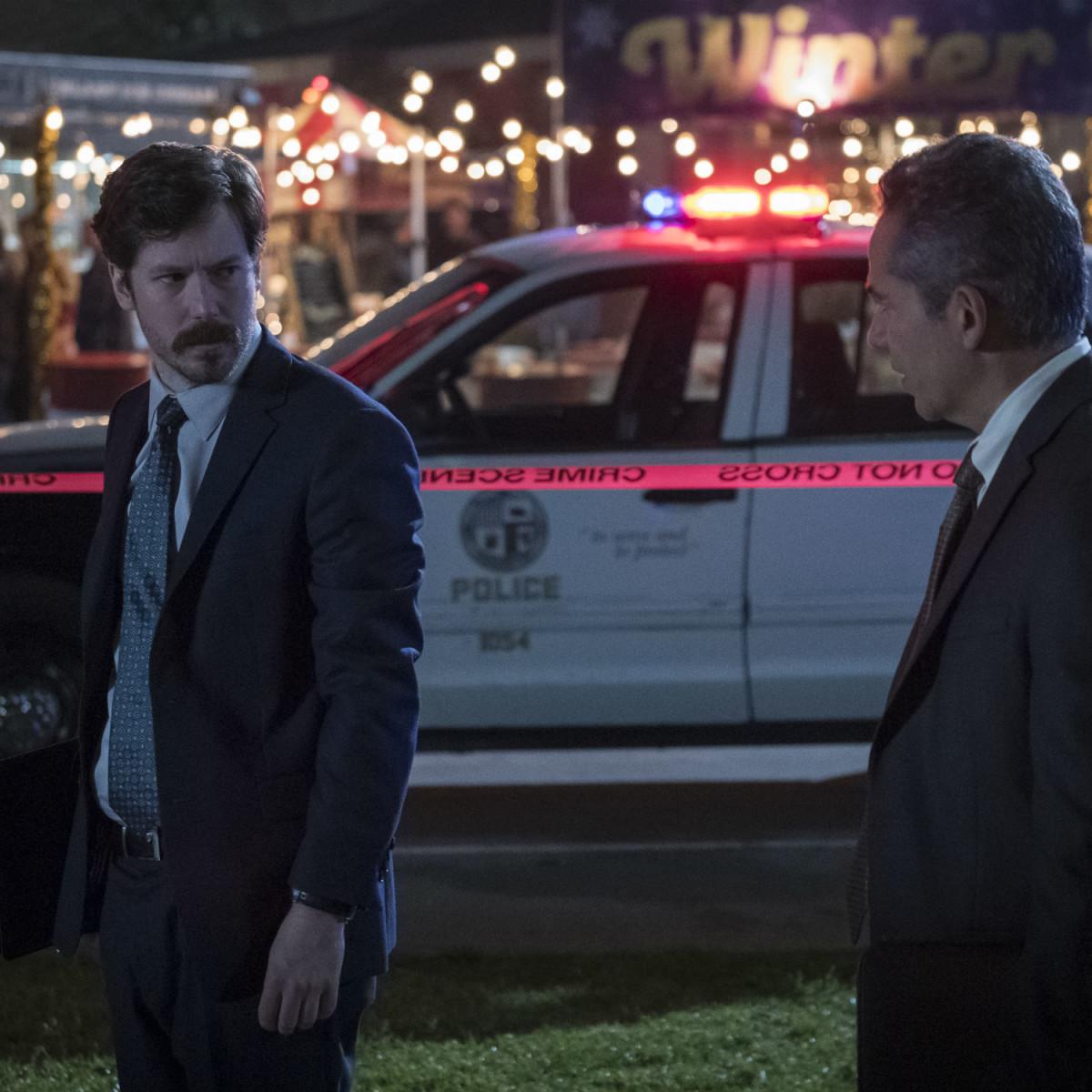 John Gallagher Jr. and John Ortiz in Peppermint