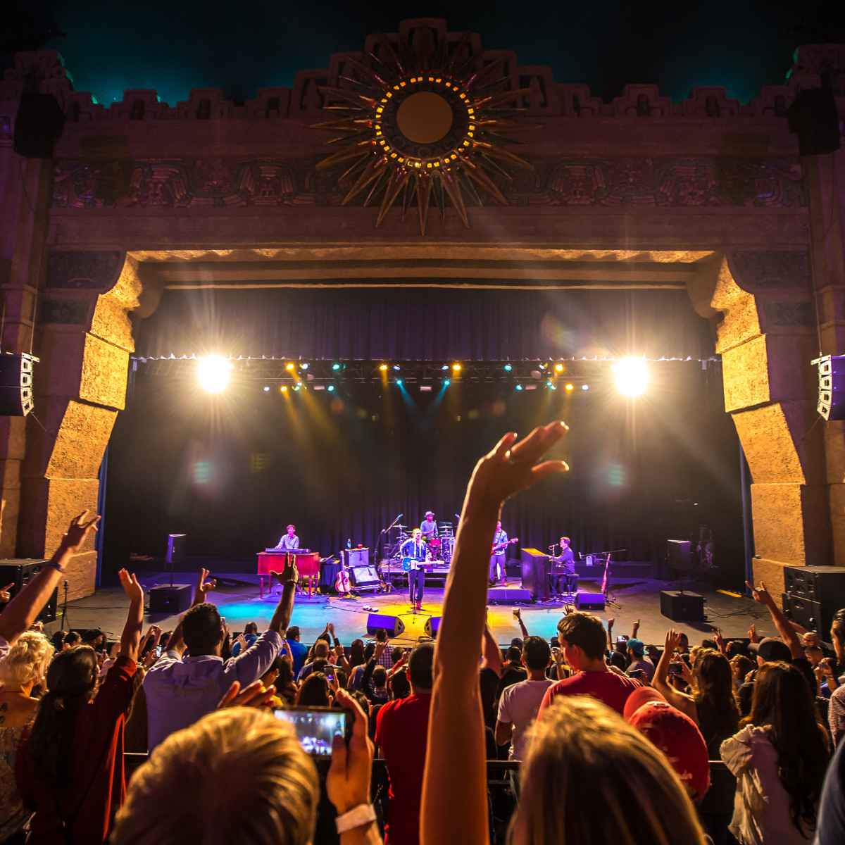 The Aztec Theatre in San Antonio