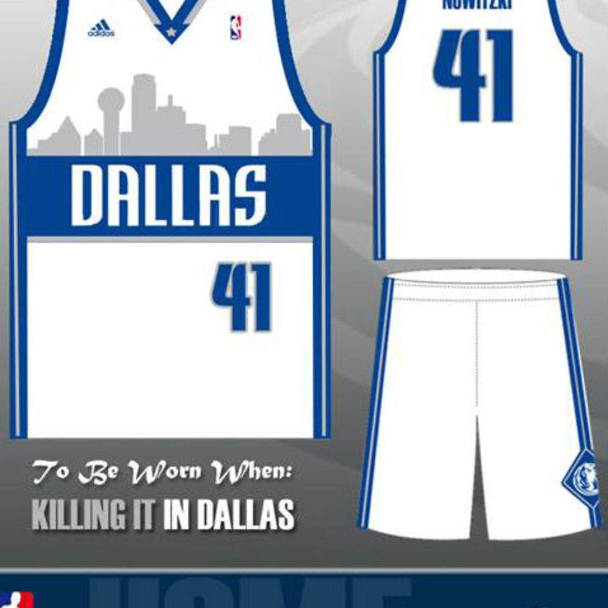 Dallas Mavericks jersey home