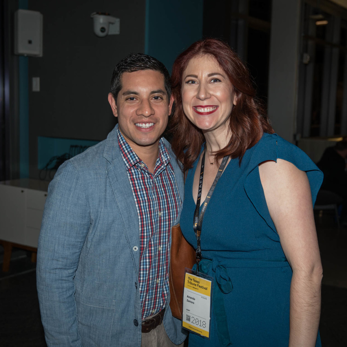 Texas Tribune Festival 2018 VIP Party at Google Luis Guido Amanda Zamora