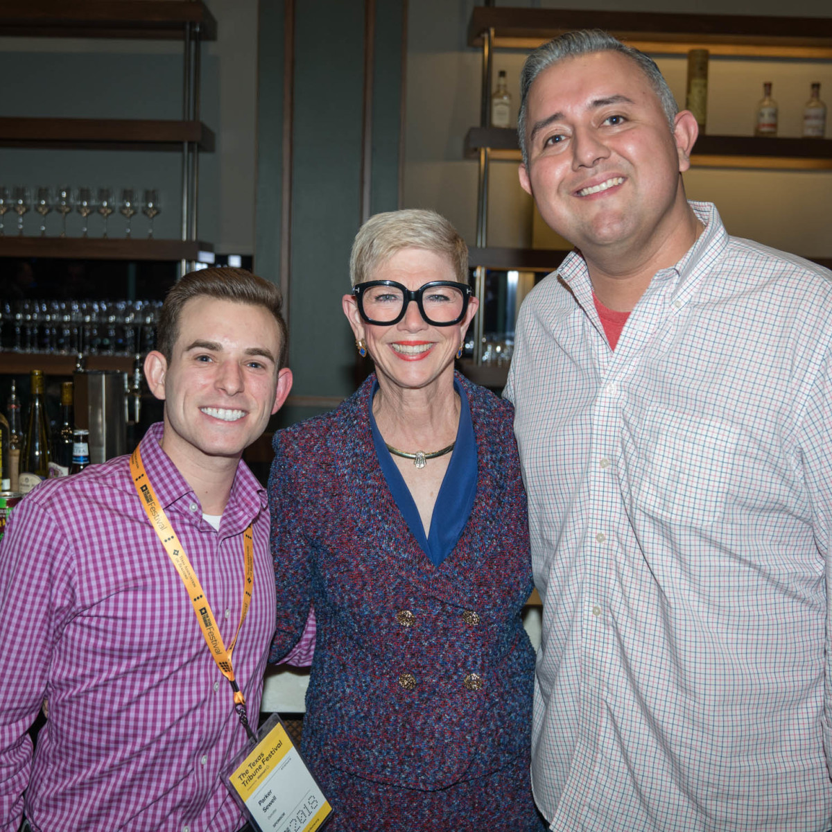 Texas Tribune Festival 2018 VIP Party at Google Parker Sewell Dr. Molly Beth Malcolm Isaac Faz