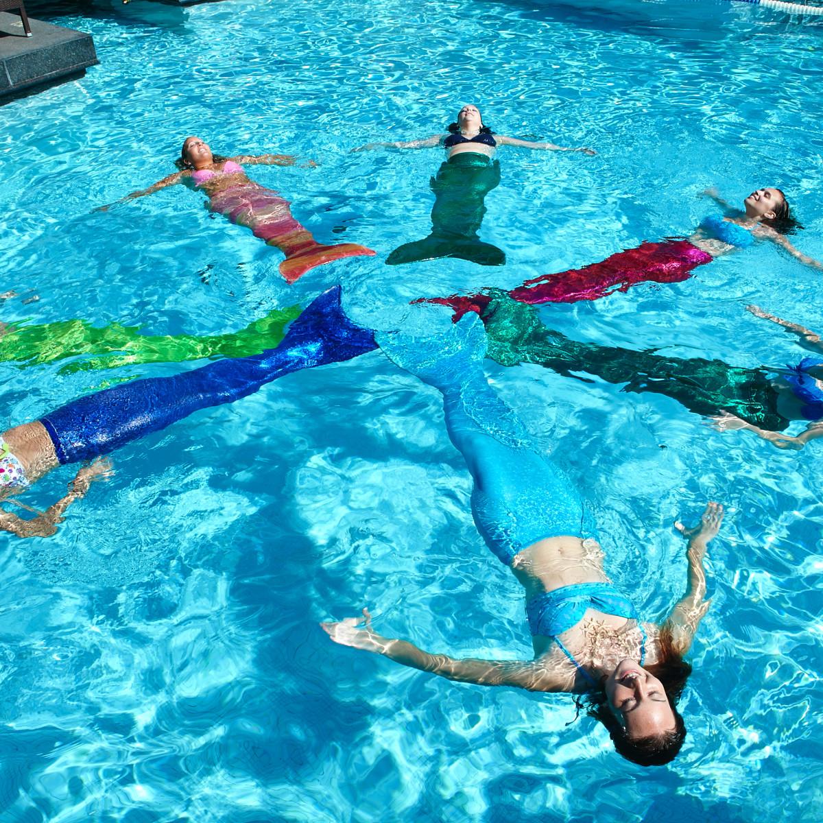 AquaMermaid mermaid swimming