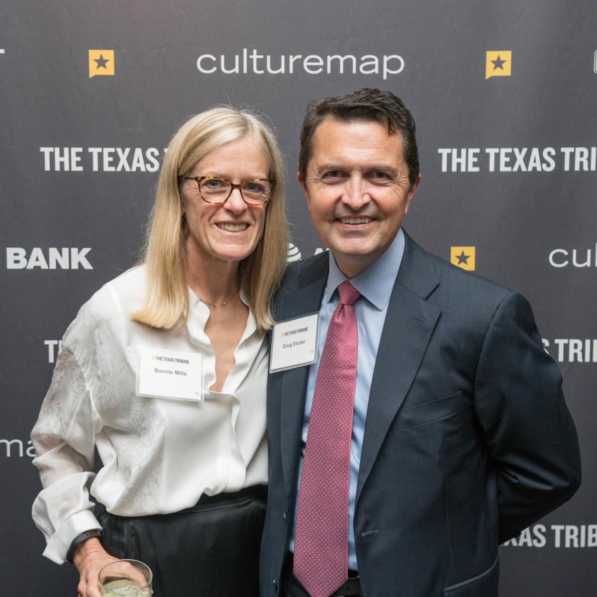 Texas Tribune Festival 2018 VIP Cocktail Hour at Brazos Hall Bonnie Mills Doug Eicher