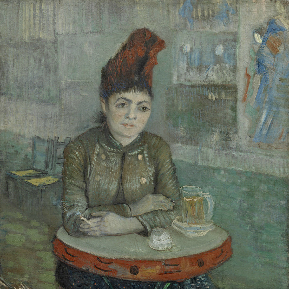 Vincent Van Gogh MFAH In the Cafe