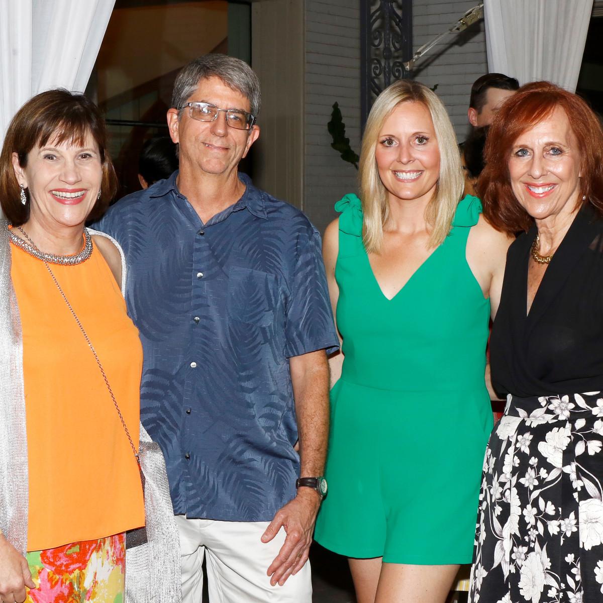 Jeanne Clark, Jerry Clark, Lora Farris, Susan Farris
