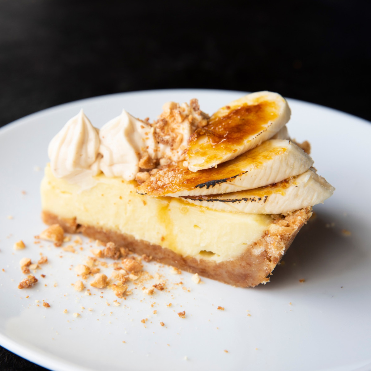 Georgia James steakhouse banana pie