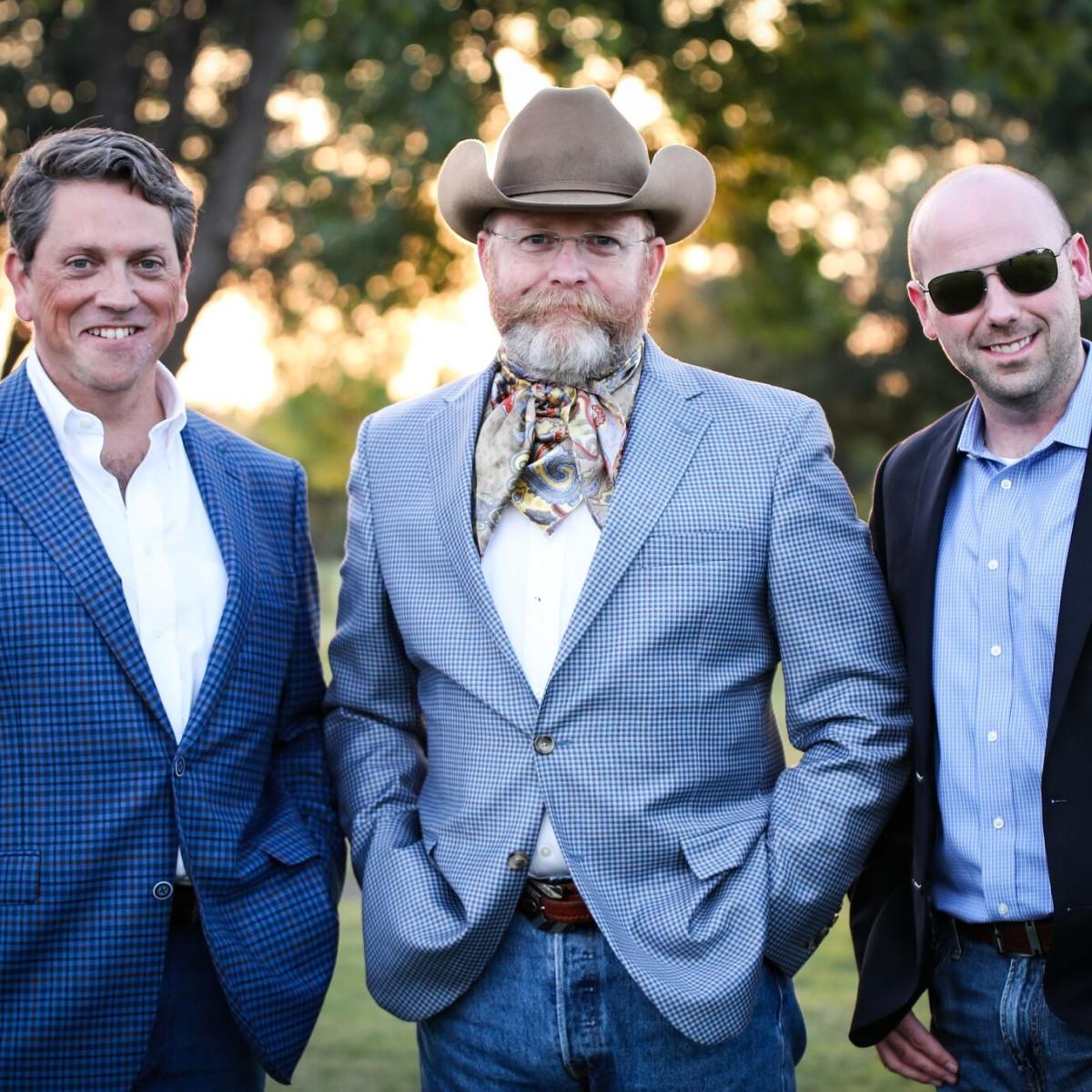 John Pritchett, Tim Howarth, Clint Sanders, Cowtown Ball