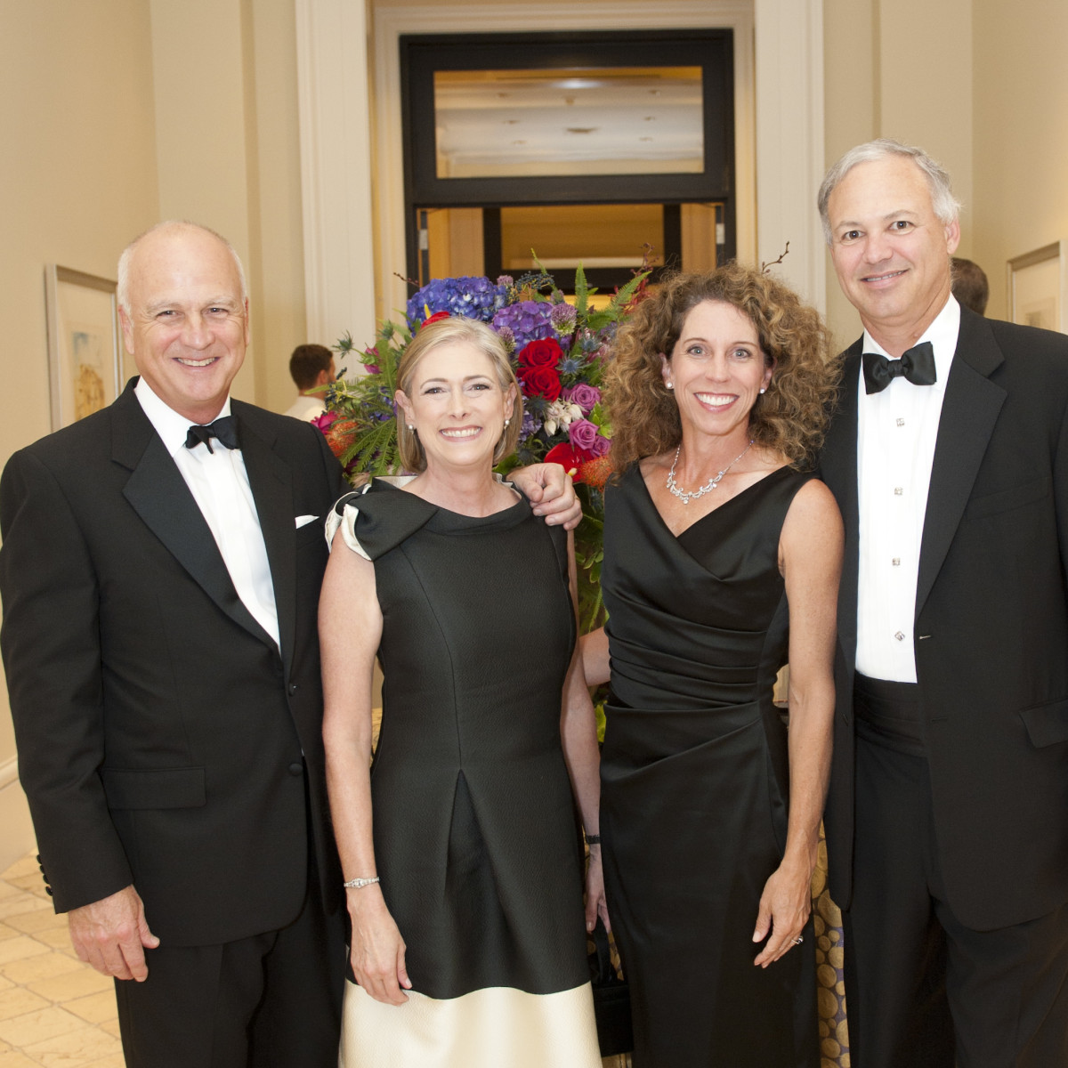 Jay Grogan, Whitney Grogan, Diane Byrd, Harold Byrd