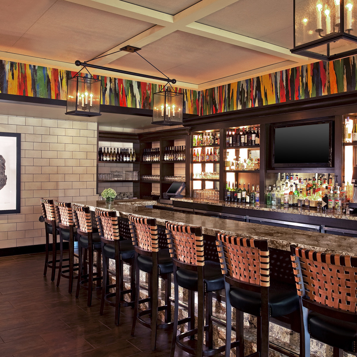 Westin Oaks Houston White Oak Kitchen bar
