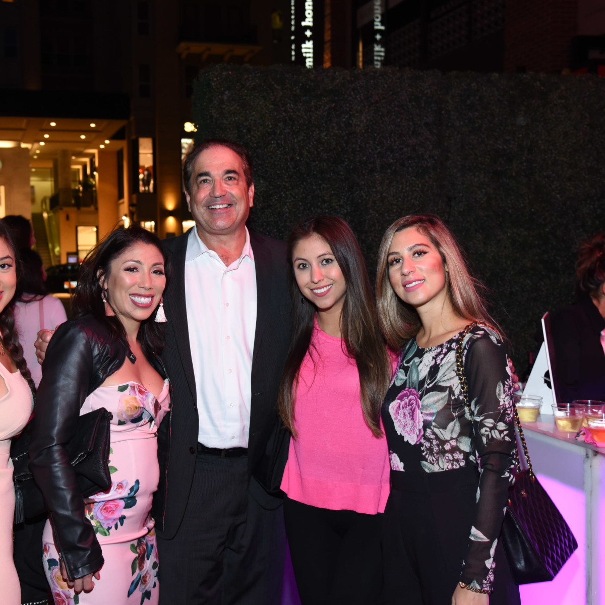 Pink Party 2018 West AveChelsea Nguyen. Crystal morris. Graham. Marianna prieto. Layal elsaadi.