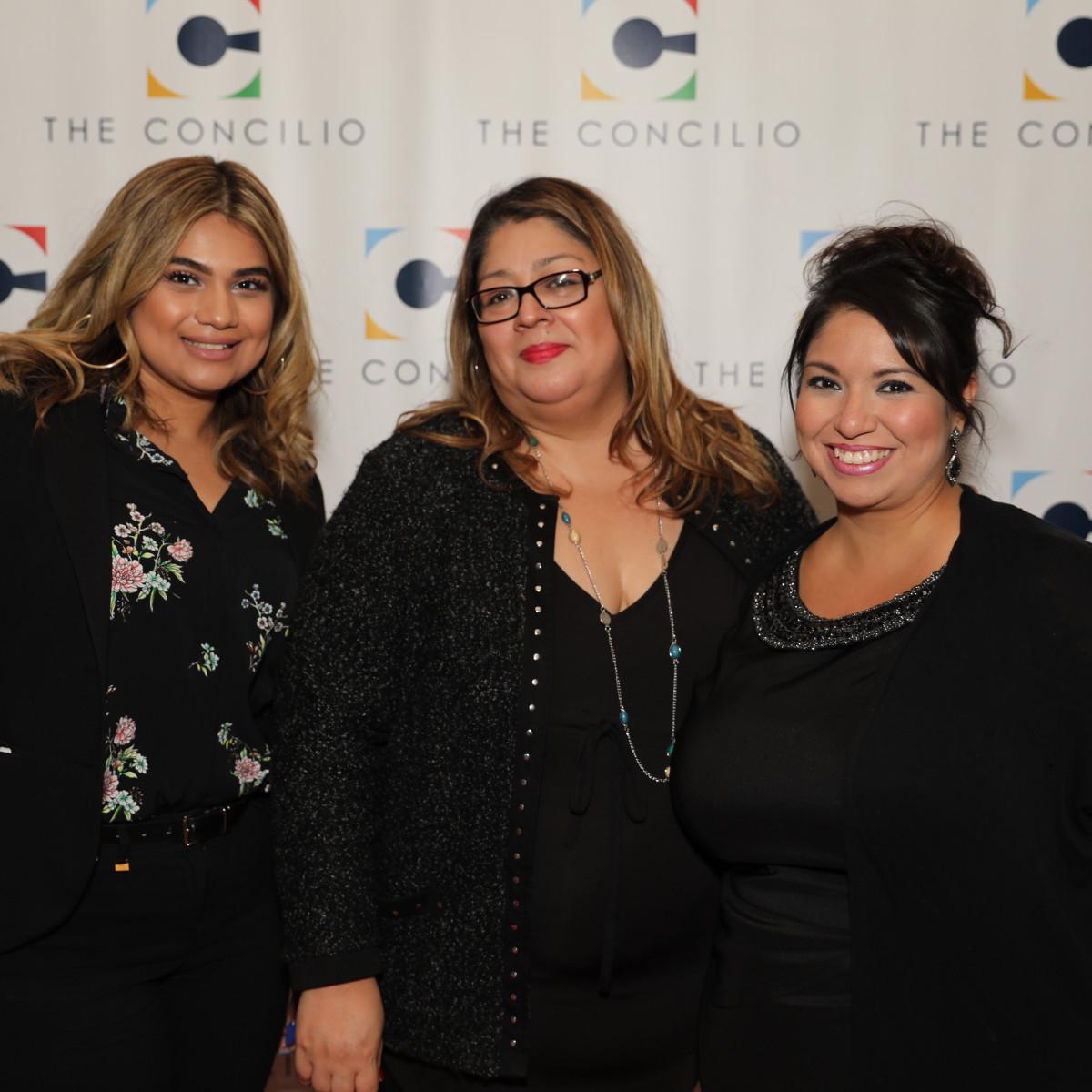 Elizabeth Guerra, Angelina Mireles, Cynthie Paschall
