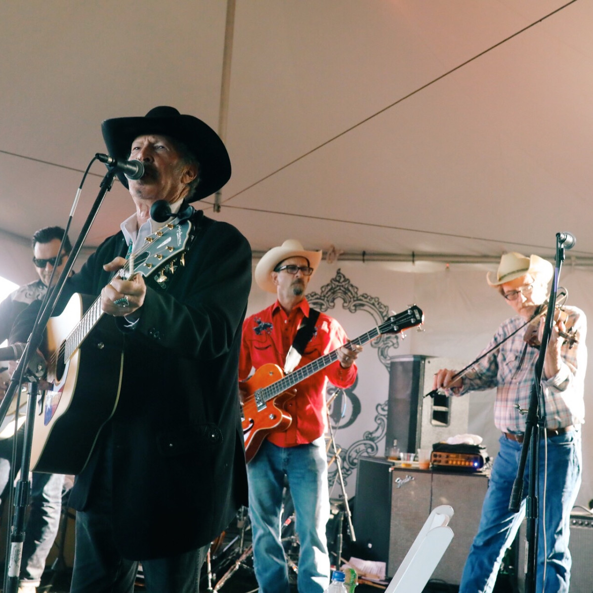 Butcher's Ball 2018 Kinky Friedman with Hard Luck Revival