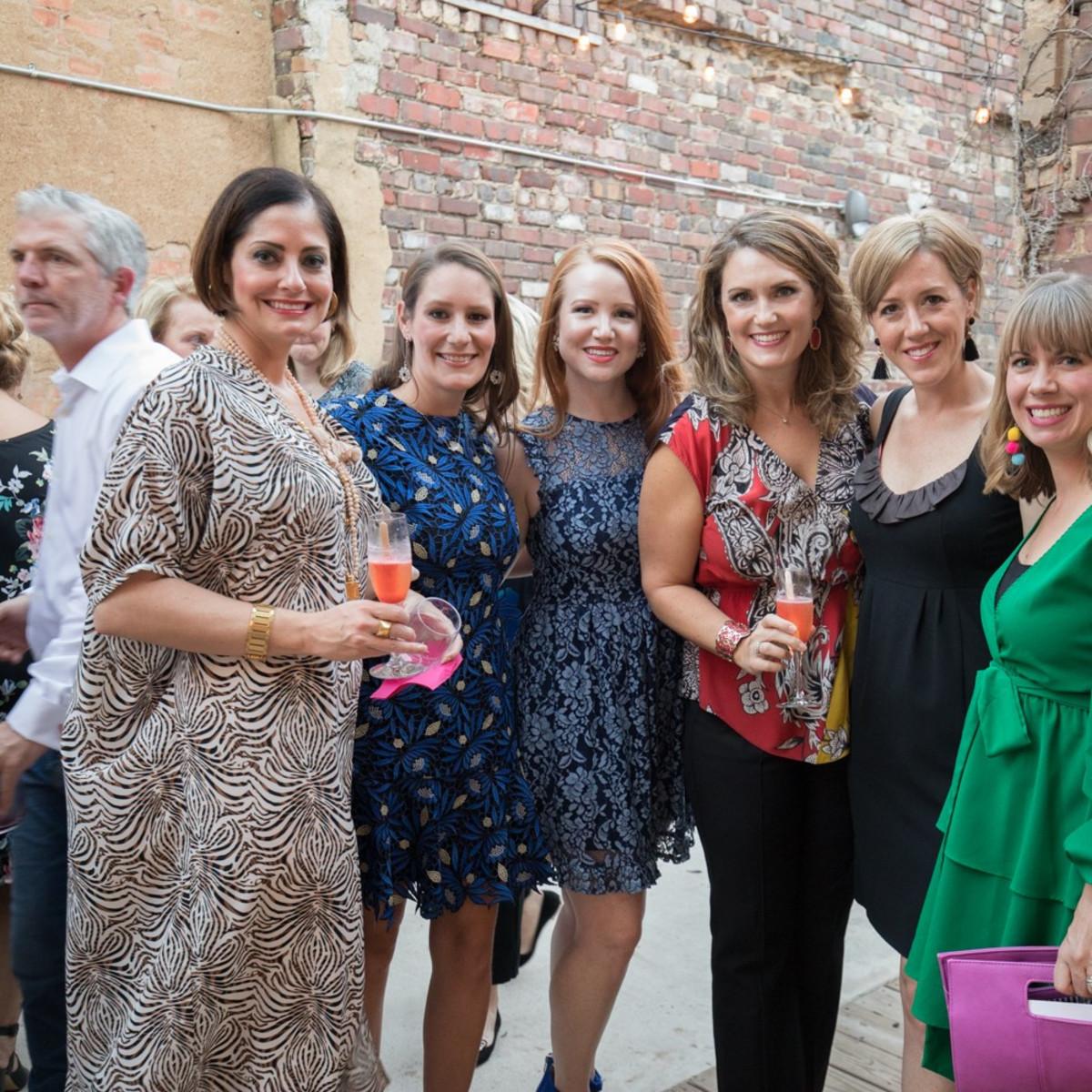 Megan Gee, Harriet Shields, Holli Davies, Laura Patton, Lindsay Klatzkin, Carley J Moore