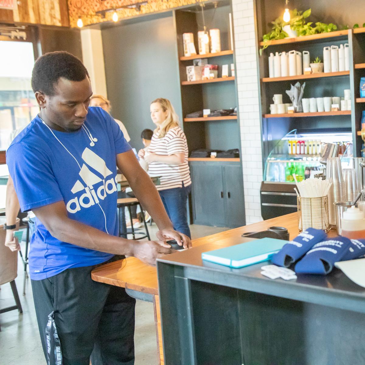 Frost pop-up at Merit Coffee San Antonio