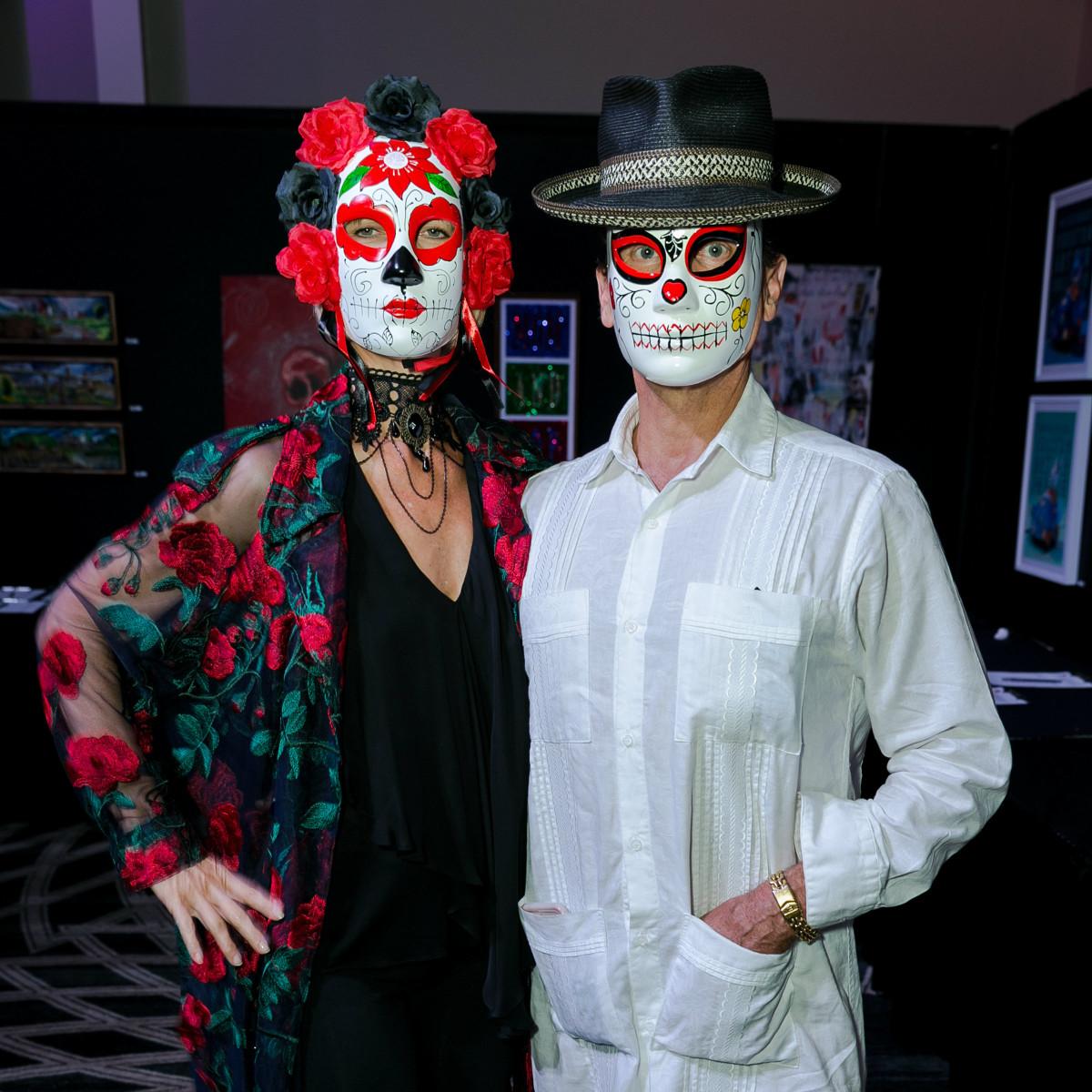 Anne Hyde Smither, John Kerr Smither - Orange Show Gala 2018