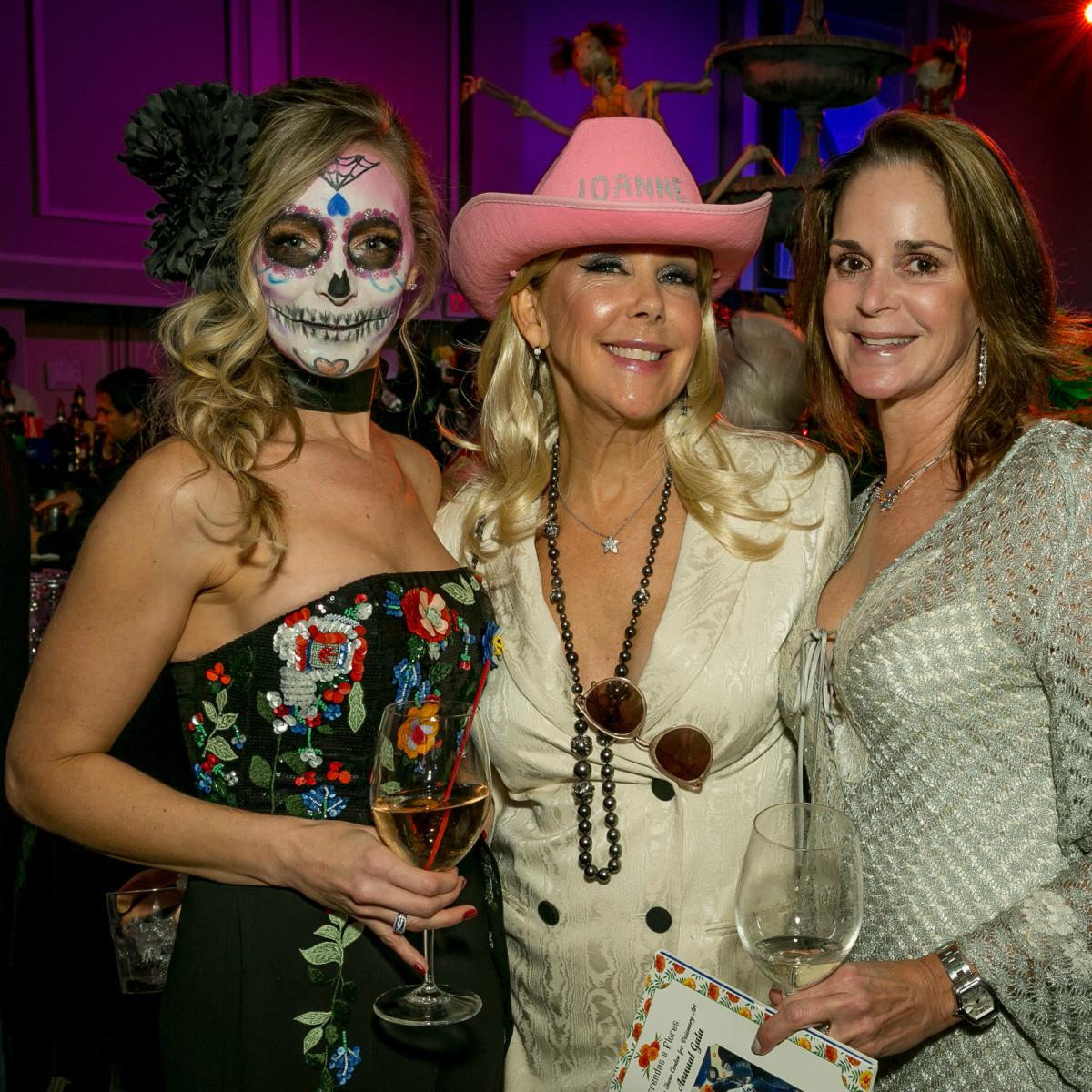 Heather Williams, Laura Rathe, Kendall Ondarza Orange Show Gala 2018