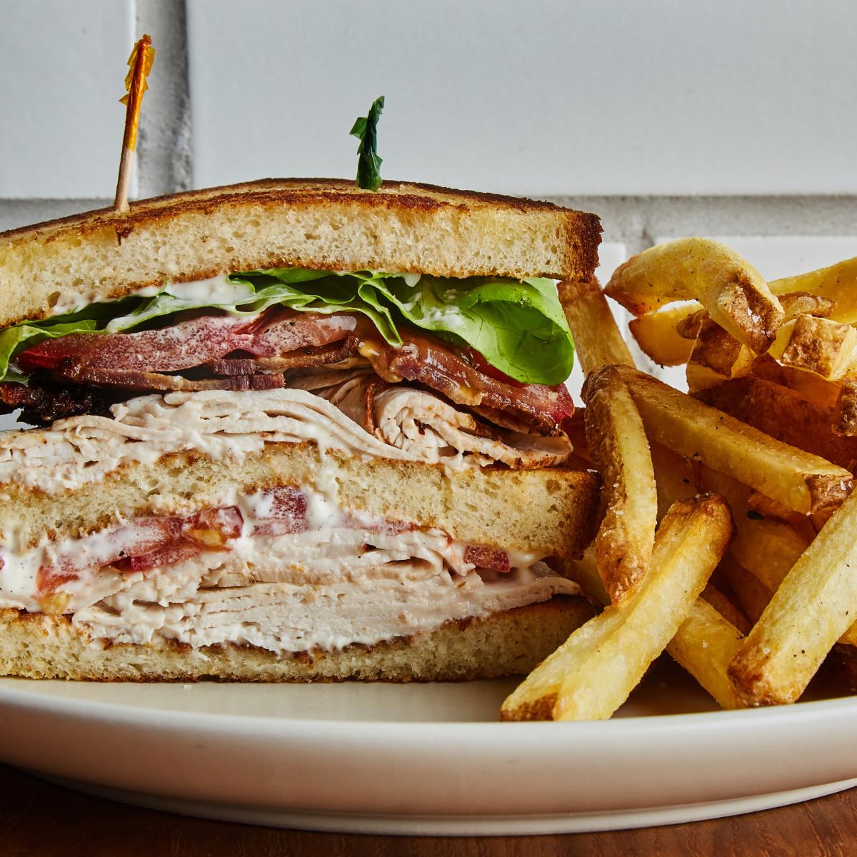 Carpenter Hall Austin club sandwich