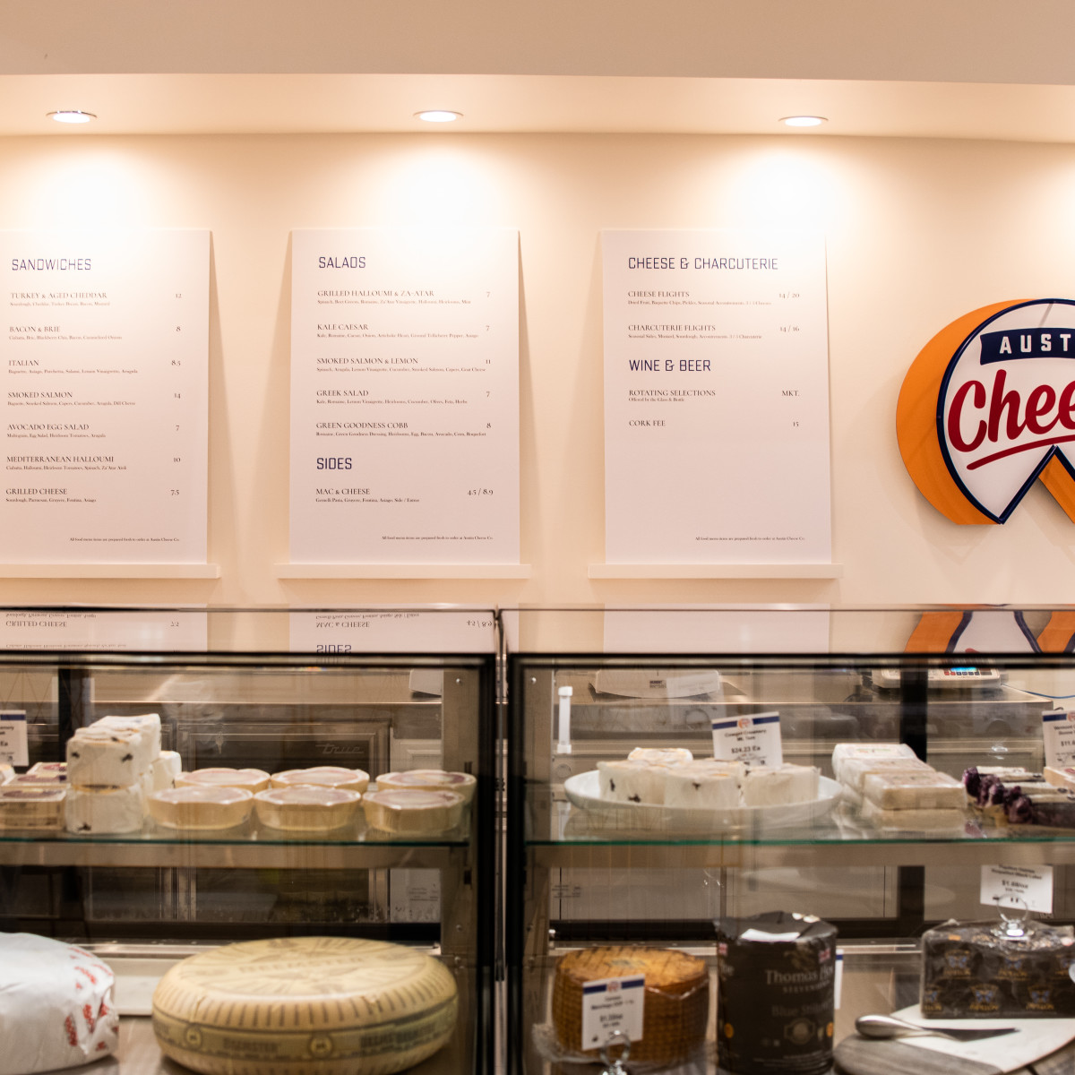 Austin Cheese Co. cases