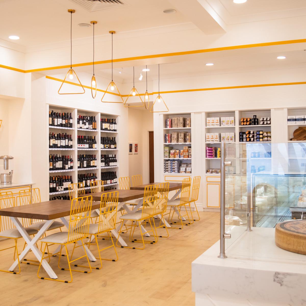 Austin Cheese Co. interior wide