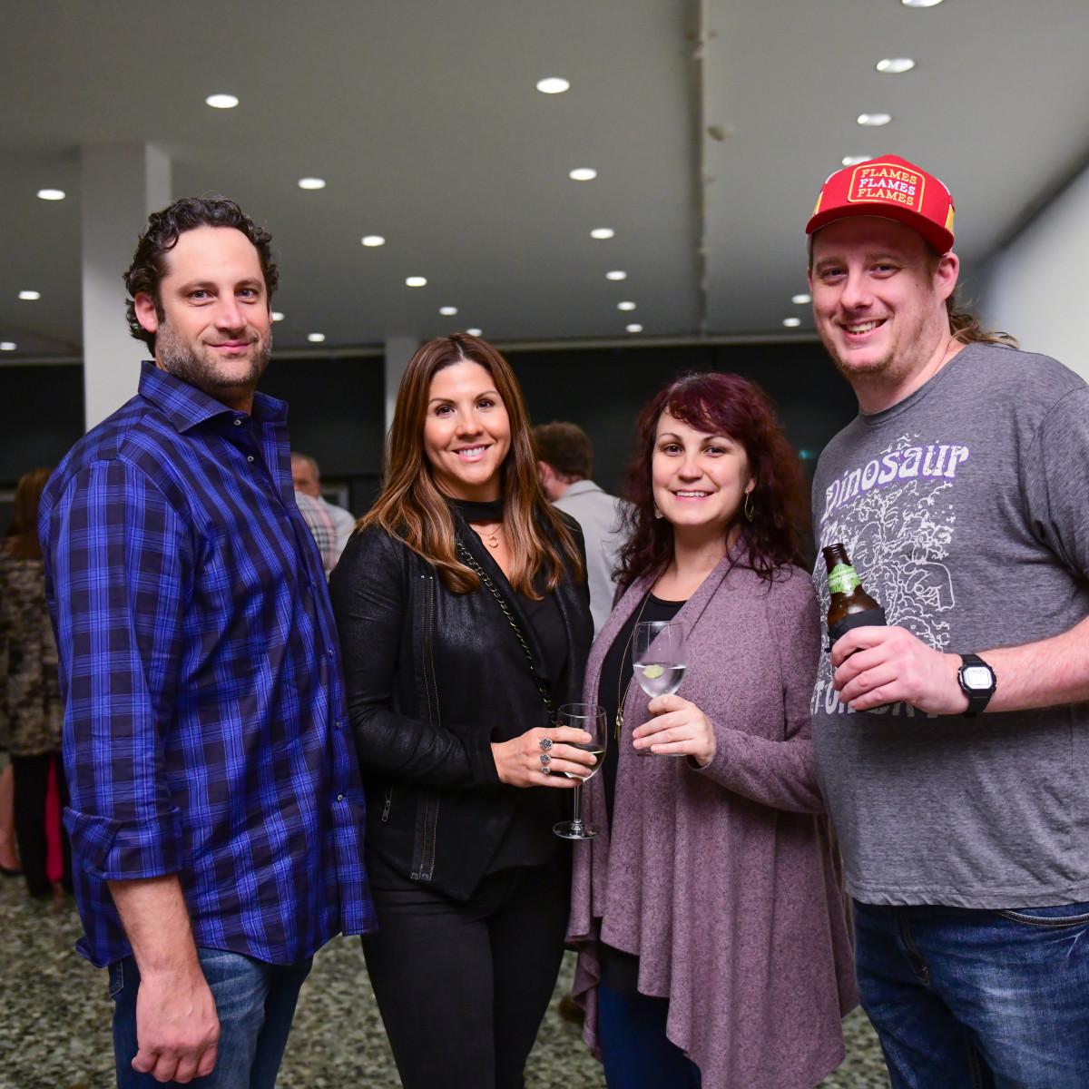 HCAF 2018 Opening Night:John Mason, Sunny Winters, Brandee Boyle, Eric Salzman