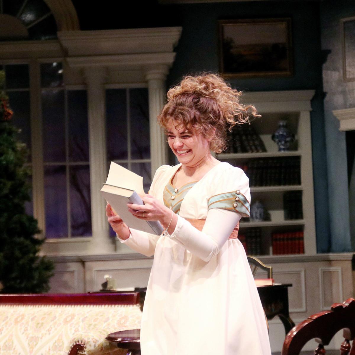 Main Street Theater:  Miss Bennet: Christmas at Pemberley, Skyler Sinclair and Brock Hatton
