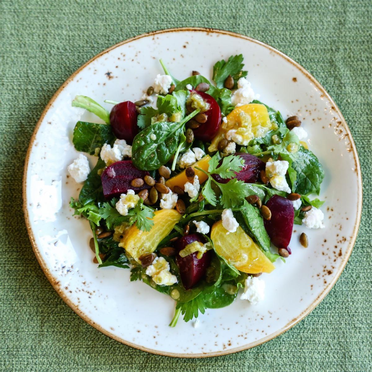 Aaron Sanchez beet salad