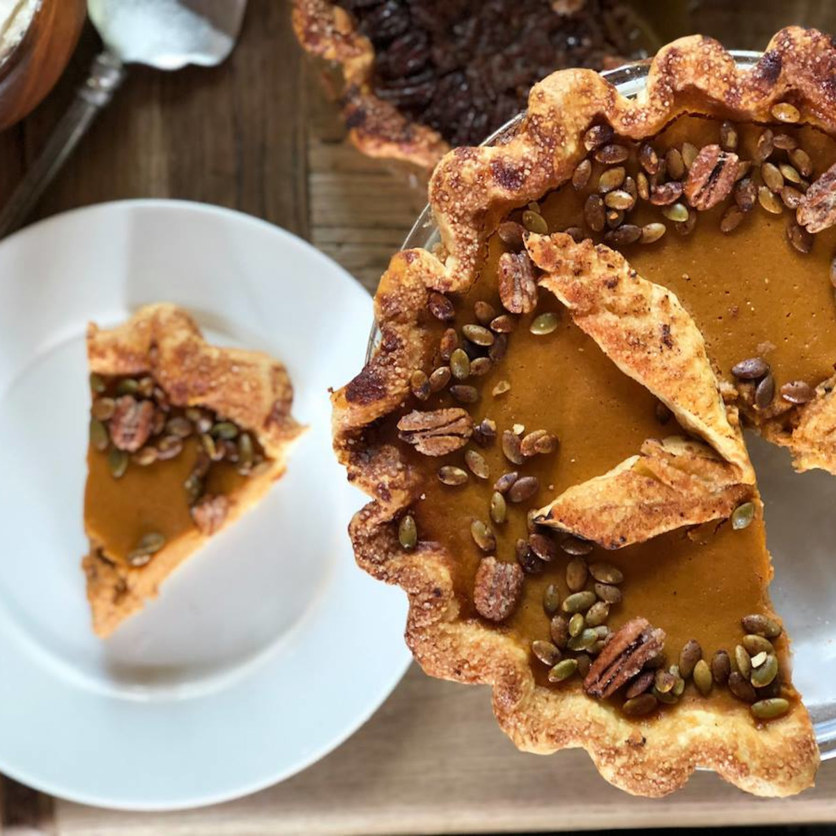 The Dunlavy Thanksgiving pie