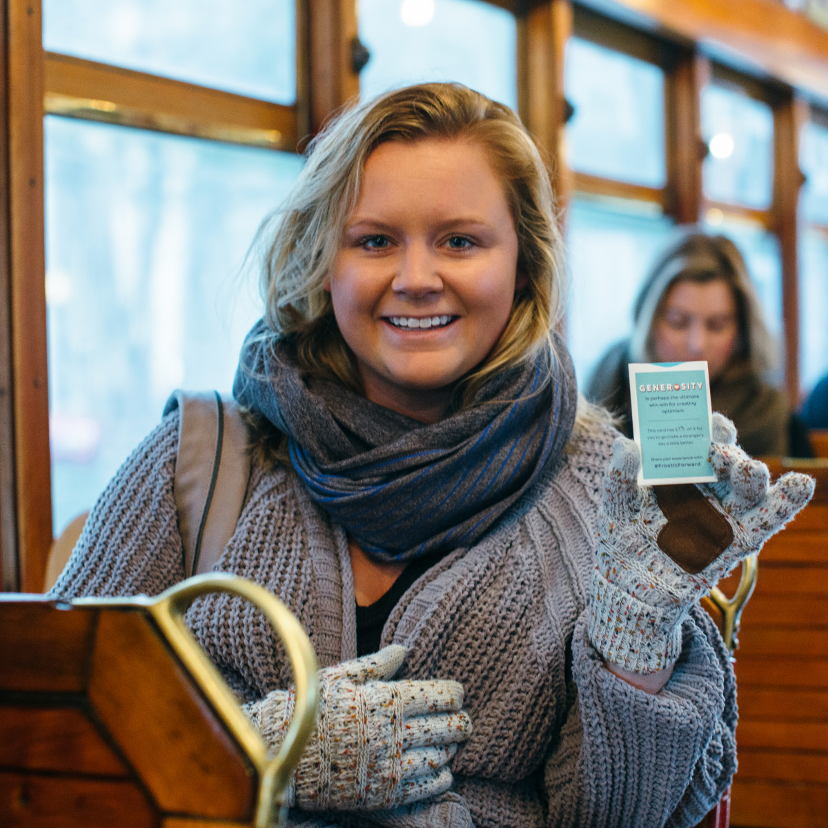 Frost pop-up on McKinney Avenue Trolley