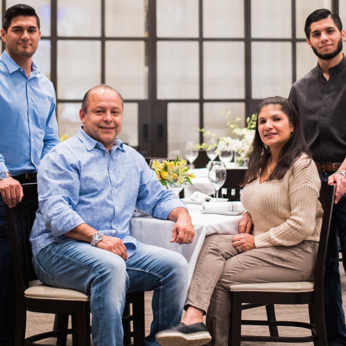 Irma's Southwest Galvan family