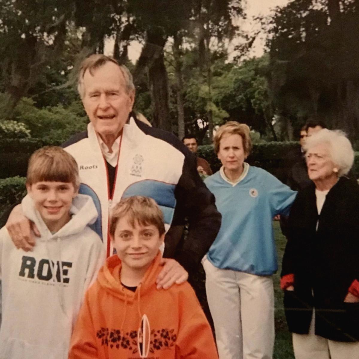 President George HW Bush Andrew Hoffman