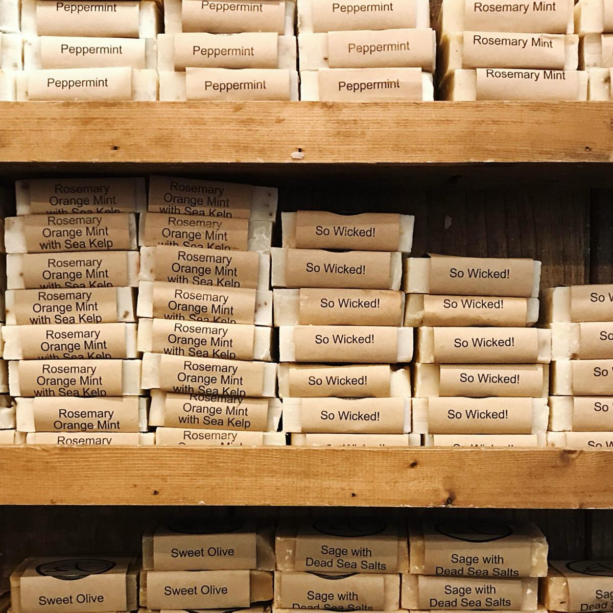 Abundantly Aromatic soaps