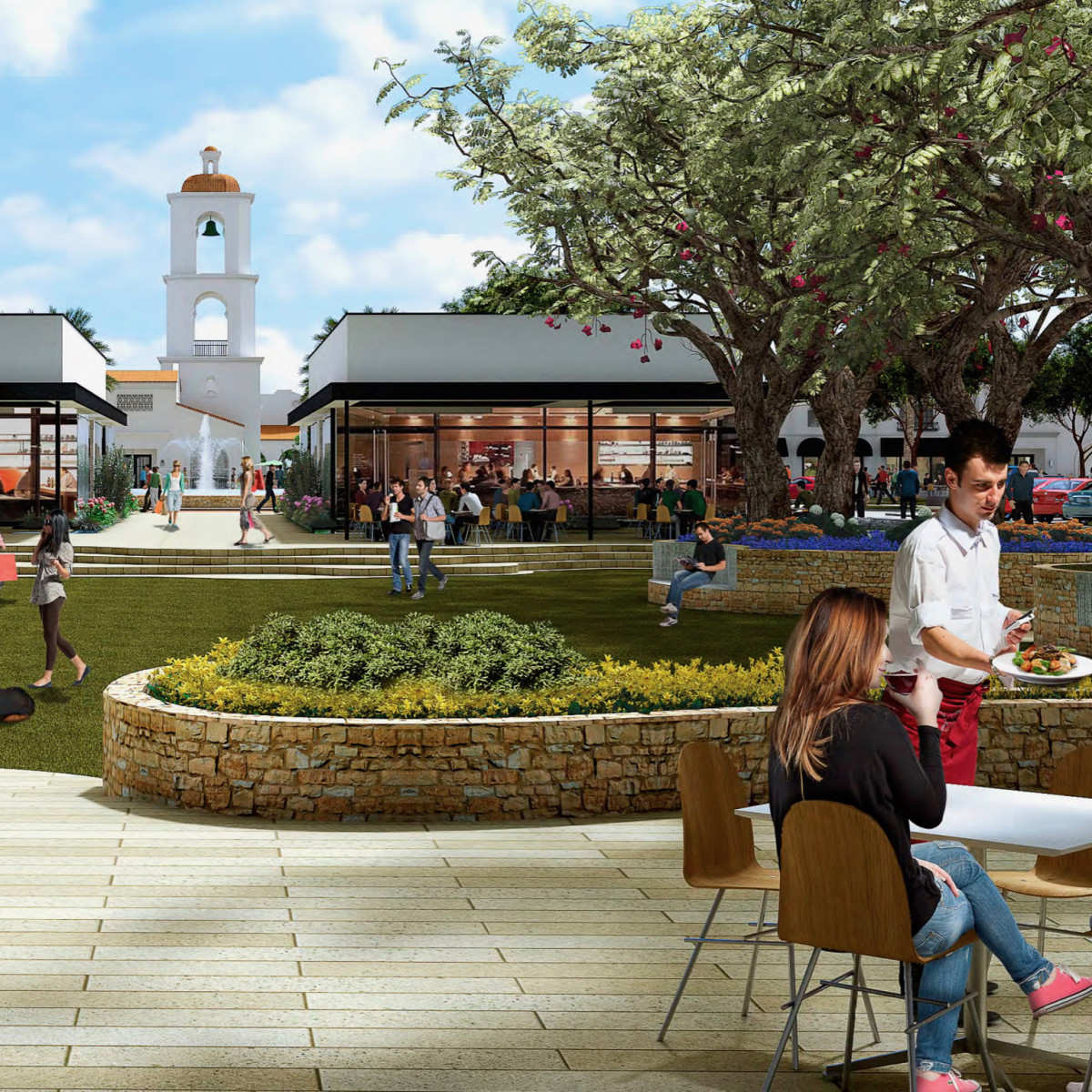 District West rendering