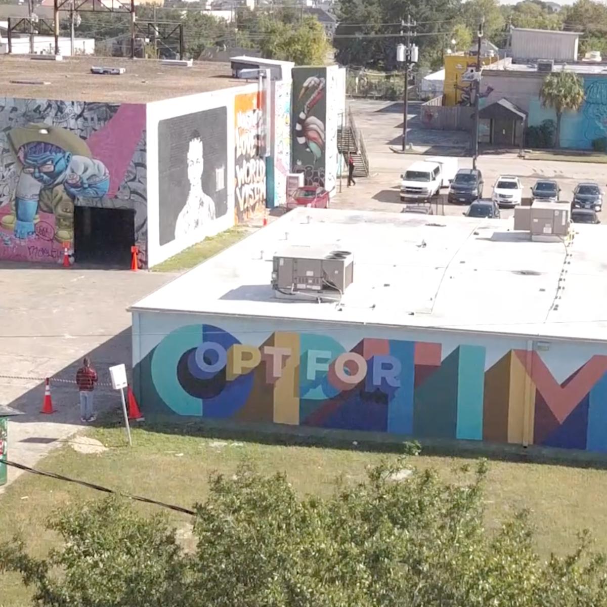 Houston Frost mural
