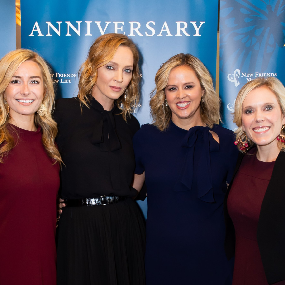 Connie Kleinert Babikian, Uma Thurman, McCall Cravens, Jill Meyer