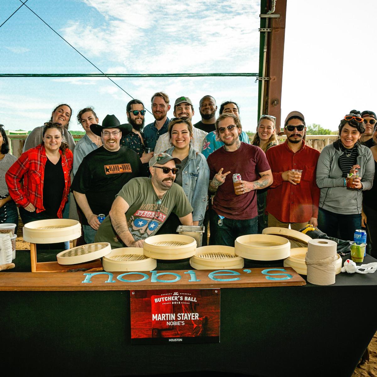 Butcher's Ball 2018 Nobie's staff